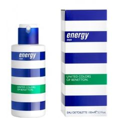 benetton-energy-man 3,3 Benetton, Man United, Fragrance, The Unit, Personal Care, Color, Men, Manchester United, Self Care