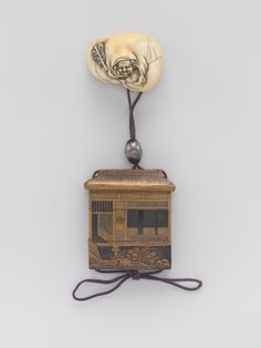 Inrō in the Shape of a House | Japan | Edo period (1615–1868) | The Metropolitan Museum of Art