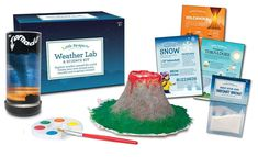 Little Passports - Weather Science Lab - Great for homeschoolers. Or just some summer science learning. Hands On Activities, Science Activities, How Is Snow Formed, Science Kits For Kids, Subscriptions For Kids, Little Passports, How To Introduce Yourself, Make It Yourself, Subscription Gifts