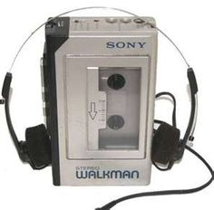 Sony Walkman. Got one for my 8th birthday along with an El Debarge and Janet Jackson tape lol!