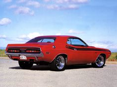 100% Pure All-American Muscle - 1971 Dodge Challenger