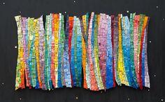 Lovely colors! | Aurora Borealis Mosaic| by Irina Charny aka icmosaics via @Flicker
