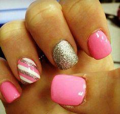 pink y rayas
