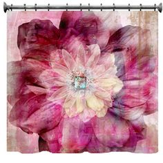 Gypsy Bohemian Shower Curtain  69 x 70 by susanakame1 on Etsy, $89.00