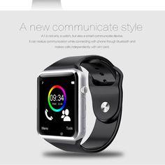 HOT Bluetooth MTK6260A Smart Wrist Watch Android Sim Camera MP3 Speaker Remote Alarm Reloj Inteligente Smartwatch For SmartPhone