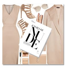 """""""Nude"""" by anilovic ❤ liked on Polyvore featuring The Row, Oasis, Yves Saint Laurent, Charlotte Russe and Bobbi Brown Cosmetics"""