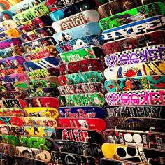 I want all of those Skateboards
