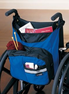Wheelchair pack- Lots of room for lots of stuff!