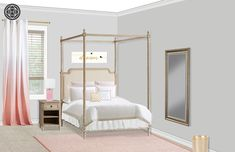 Classic, Preppy Bedroom Design by Havenly Interior Designer Cassie Preppy Bedroom, Design Process, Interior Design, Classic, Inspiration, Furniture, Home Decor, Nest Design, Derby