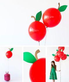 Ягодные воздушные шарики (Diy)