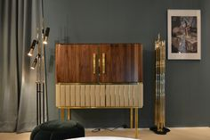 See glorious Hepburn Cabinet right at the Salone Del Mobile 2018. Essential Home is ready to welcome you and introduce mid-century modern design at Hall 1 Stand L09!