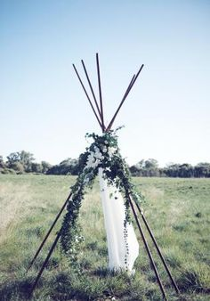 White Magazine. Child-like Whimsy. Teepee