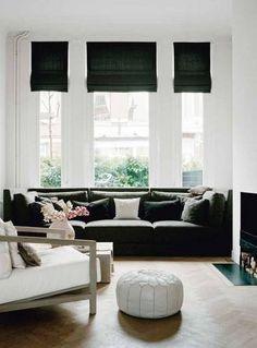 Simple formal sitting room
