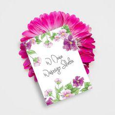 Flowers / Wedding gift / Wedding card