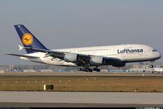 Lufthansa D-AIMC Airbus A380-841