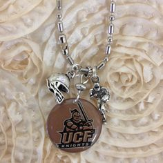 Licensed Collegiate Stack 'Em Necklace  UCF by AnnPedenJewelry, $12.99