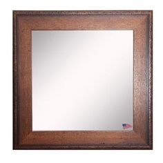 18048f0d435903 American Made Rayne Timber Estate Square Wall Mirror - S052 ~Suggested  Retail~