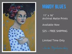 Moody Blues Print | jane-spakowsky