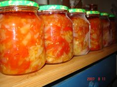 Preserving Food, Preserves, Pickles, Salsa, Mason Jars, Frozen, Cooking Recipes, Stuffed Peppers, Canning