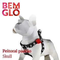 Que tal deixar seu pet mais estiloso e seguro? #bemglo #pet #peitoral