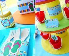 decoracion pool party - Buscar con Google