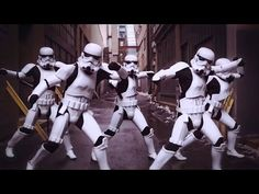 CAN'T STOP THE FEELING! - Justin Timberlake (Stormtroopers Dance Moves & More) PT 3 - YouTube