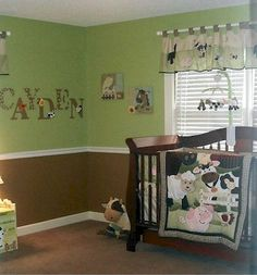 Farm Animal Nursery Theme For Boys