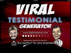 Viral Testimonial Generator