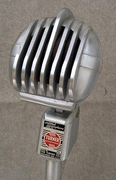 Vintage Microphone, Ham Radio, Cool Stuff