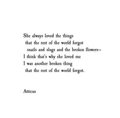 See this Instagram photo by @atticuspoetry • 7,832 likes