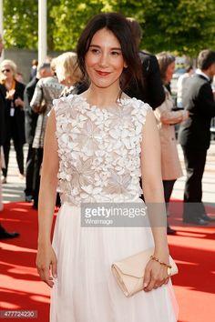 Actress Sibel Kekilli arrives for the German Film Award 2015 Lola (Deutscher Filmpreis) at Messe Berlin on June 19, 2015 in Berlin, Germany.