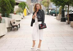 Coco and Jeans: Outfit: Black & White