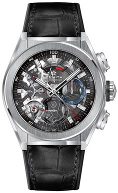 Zenith Defy El Primero 21 Watch With 1/100th Of A Second Chronograph Watch Releases