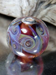 Ethereal Swirl Bead by RASPBERRYRINGS on Etsy, £18.00