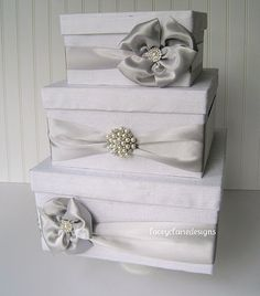 Wedding Card Box Money Box Gift Card Box by LaceyClaireDesigns, $112.00