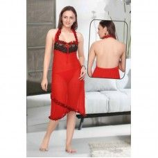 Offers wide range of ladies night wear 1pc set.
