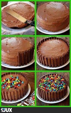 Torten Kalorienbombe aber total schick!