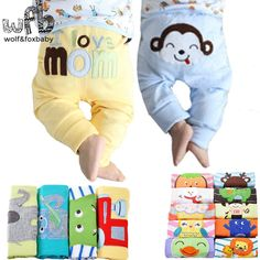 Retail 5pcs/pack 0-2years PP pants trousers Baby Infant cartoonfor boys girls Clothing 2014 new free shipping | Price: US $13.71 | http://www.bestali.com/goto/2032985267/10
