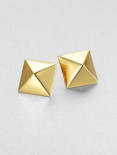 Kate Spade New York - Pyramid Stud Earrings