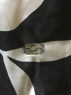Biker Tribal Wave Ring