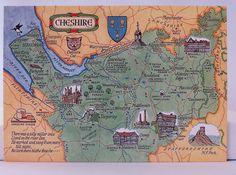 https://flic.kr/p/S1vzLq   Postcard Map of Cheshire IMG_1221