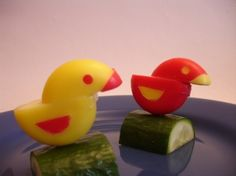 duck snacks made from babybel cheese