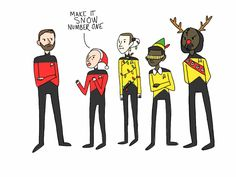 "DATA AND YHE CHRISTMAS LIGHTS CUZ HE BE A ANDROID SO HE COUKD LEGIT BE THE CHRISTMAS TREE, WALKING AROUND THE SHIP AND GEORDI FOLLOWING HIM AROUND SINGING ""oh DATAtree, oh DATAtree"" BUWHAHAHAHAH"