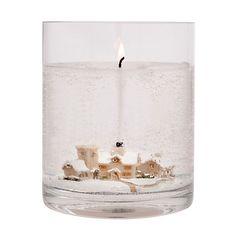 Buy Stoneglow Snowscene Winter Wonderland Large Gel Candle Online at johnlewis.com