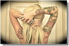 Tatouage Léopard - Leopard Tattoo
