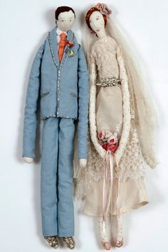 Mr & Mrs. dolls
