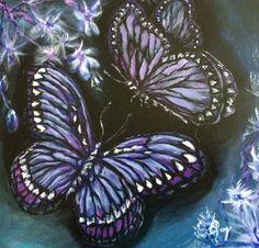 Purple Butterfly, Brooch, Butterflies, Art, Jewelry, Art Background, Jewlery, Jewerly, Brooches