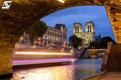 Préfecture de Police & Notre Dame @ Blue Hour | Flickr - Photo Sharing!