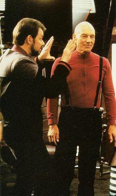 Rare Star Trek: The Next Generation Pictures