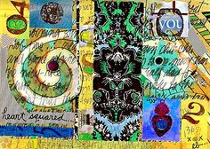 Journal Pages: Heart squared 2